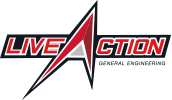 Live Action General Engineering full color logo small